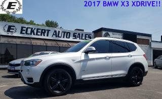 Used 2017 BMW X3 xDrive28i for sale in Barrie, ON