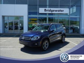 Used 2017 Volkswagen Tiguan Highline - AWD - Turbo for sale in Hebbville, NS
