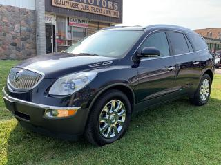 Used 2012 Buick Enclave CXL 2. AWD. 7 PASSENGER. NAVIGATION. REAR VIEW CAMERA. BLUETOOTH. ALLOYS. for sale in North York, ON