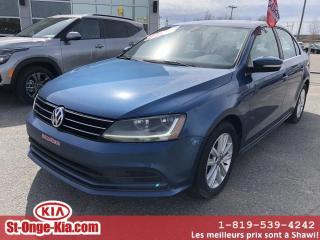 Used 2017 Volkswagen Jetta Édition Wolfsburg 1.4 TSI 4 portes BA for sale in Shawinigan, QC