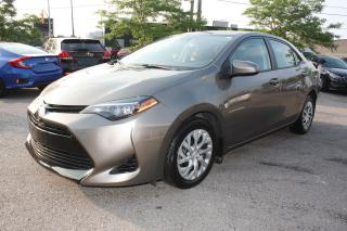 Used 2017 Toyota Corolla LE for sale in Toronto, ON