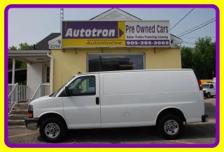 Used 2018 GMC Savana 2500 3/4 Ton Cargo Van, Loaded for sale in Woodbridge, ON