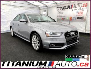 Used 2015 Audi A4 S-Line+Progressiv+-Quattro+GPS+Park Sensor+Sunroof for sale in London, ON