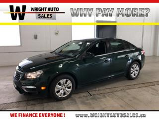 Used 2015 Chevrolet Cruze 1LT|LOW MILEAGE|BACKUP CAMERA|BLUETOOTH|20,084 KM for sale in Cambridge, ON