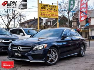 Used 2016 Mercedes-Benz C-Class AWD*AllPowerOpti*Navi*Camera*Panoramic*XenonPack for sale in Toronto, ON