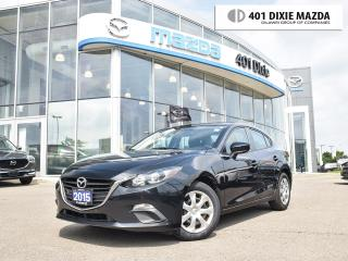 Used 2015 Mazda MAZDA3 GX|ONE OWNER|1.9% FINANCE AVAILABLE| for sale in Mississauga, ON