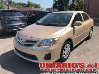 Used 2011 Toyota Corolla CE 9172 KM RARER | Auto | Traction & Stability for sale in Toronto, ON