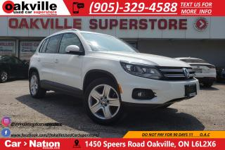 Used 2013 Volkswagen Tiguan 2.0 TSI COMFORTLINE | HTD SEATS | PANO ROOF | BT for sale in Oakville, ON