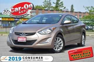 Used 2015 Hyundai Elantra Sport Appearance AUTO SUNROOF A/C HTD SEATS LOADED for sale in Ottawa, ON