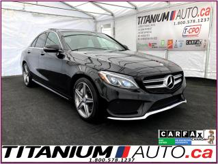 Used 2016 Mercedes-Benz C-Class AMG PKG+4Matic+GPS+Camera+Pano SunRoof+Blind Spot+ for sale in London, ON