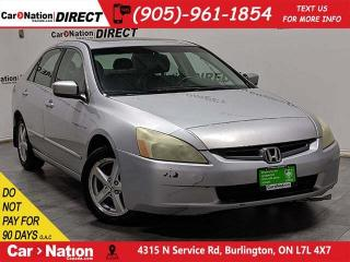 Used 2004 Honda Accord EX-L| AS-TRADED| LEATHER| SUNROOF| for sale in Burlington, ON