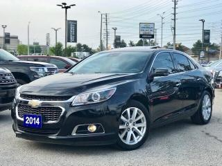 Used 2014 Chevrolet Malibu LTZ Sunroof|Leather|Rear CAM| for sale in Mississauga, ON