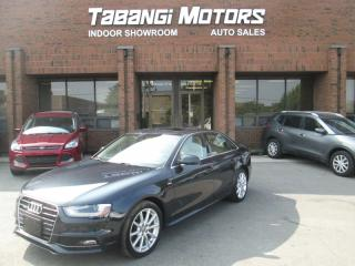 Used 2015 Audi A4 PROGRESSIVE | NO ACCIDENTS | S-LINE | NAVIGATION | REAR CAM for sale in Mississauga, ON