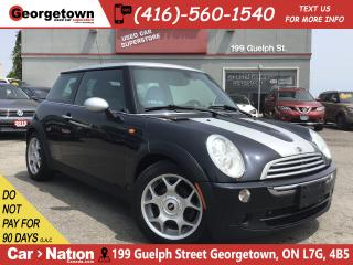 Used 2006 MINI Cooper 5 SPEED | LEATHER | PANO ROOF | ONLY 112,709KM for sale in Georgetown, ON