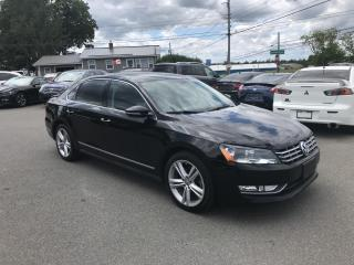 Used 2012 Volkswagen Passat 2.0L TDI SE AT HIGHLINE for sale in Truro, NS