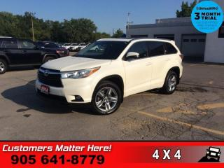 Used 2014 Toyota Highlander Limited  AWD NAV ROOF CAM CS BS for sale in St. Catharines, ON