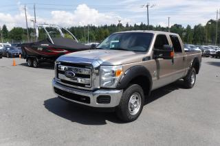 Used 2012 Ford F-250 SD XLT Crew Cab 6.5ft Bed 4WD Diesel for sale in Burnaby, BC
