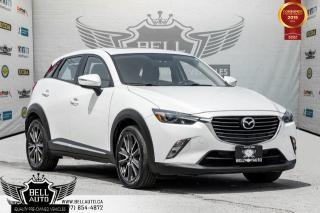 Used 2016 Mazda CX-3 GT, AWD, NAVI, BACK-UP CAM, SUNROOF, HEADS-UP DIS for sale in Toronto, ON
