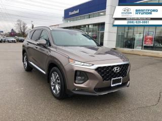 New 2019 Hyundai Santa Fe 2.0T Luxury AWD  - Sunroof - $240.73 B/W for sale in Brantford, ON