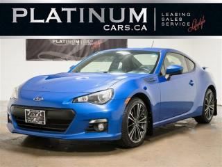 Used 2013 Subaru BRZ LIMITED, SPORT-TECH, NAVI, KEYLES, Manual for sale in Toronto, ON