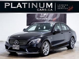 Used 2017 Mercedes-Benz C43 AMG 4MATIC, NAVI, PANO, 360 CAM, Driver Assist for sale in Toronto, ON