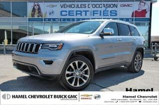 Used 2018 Jeep Grand Cherokee LIMITE LUXURY * TOIT PANORAM. * 4X4* DM.  DI for sale in St-Léonard, QC