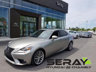 Used 2015 Lexus IS 250 Mags, Cuir, Toit for sale in Chambly, QC