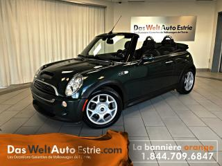 Used 2006 MINI Cooper S Convertible, Cuir, Manuel, Bas Prix! for sale in Sherbrooke, QC