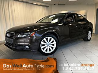 Used 2012 Audi A4 2.0T Premium Quattro, Cuir, Toit, Automatique for sale in Sherbrooke, QC