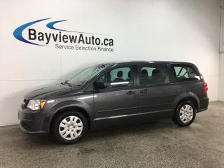 Used 2017 Dodge Grand Caravan CVP/SXT - ONLY 17,000KMS! A/C! CRUISE! PWR GROUP! for sale in Belleville, ON