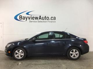 Used 2015 Chevrolet Cruze 2LT - AUTO! HTD LEATHER! SUNROOF! A/C! BIG SCREEN! + MORE! for sale in Belleville, ON
