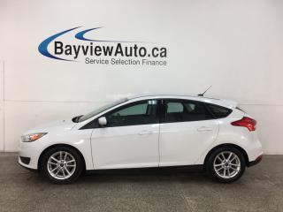 Used 2015 Ford Focus SE - 5SPD! A/C! PWR GROUP! ALLOYS! + MORE! for sale in Belleville, ON