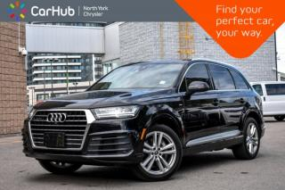 Used 2017 Audi Q7 3.0T Technik|Pano.Sunroof|BOSE|Backup.Cam|Bluetooth|GPS|SiriusXM| for sale in Thornhill, ON