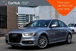 Used 2016 Audi A4 Komfort plus|Sunroof|Bluetooth|SiriusXM|Voice.Command|Heat.Frnt.Seats| for sale in Thornhill, ON