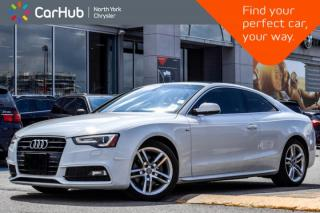 Used 2016 Audi A5 Technik plus|Sunroof|Backup.Cam|Bluetooth|Heat.Frnt.Seats|GPS|Blindspot| for sale in Thornhill, ON