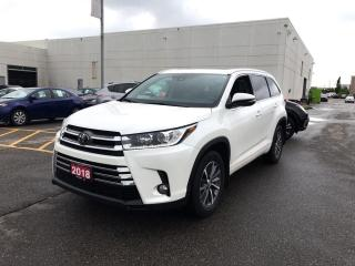 Used 2018 Toyota Highlander XLE for sale in Brampton, ON