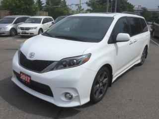 Used 2017 Toyota Sienna SE 8 Passenger for sale in Brampton, ON