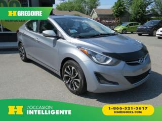 Used 2016 Hyundai Elantra GL AUT A/C MAGS for sale in St-Léonard, QC