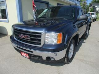 Used 2010 GMC Sierra 1500 WORK READY SLE MODEL 3 PASSENGER 4.8L - VORTEC.. 4X4.. REGULAR CAB.. 6'6