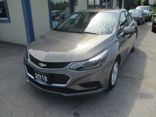 Used 2018 Chevrolet Cruze LIKE NEW LT MODEL 5 PASSENGER 1.4L - TURBO.. FACTORY WARRANTY.. HEATED SEATS.. BOSE AUDIO.. BACK-UP CAMERA.. for sale in Bradford, ON