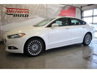 Used 2014 Ford Fusion TITANIUM AWD 2L ÉCOBOOST for sale in Lévis, QC