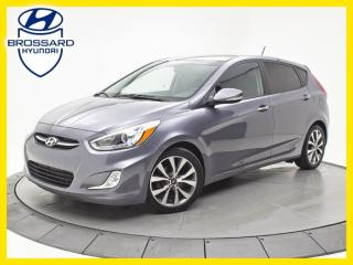 Used 2016 Hyundai Accent TOIT OUVRANT, SIÈGES CHAUFFANTS, BLUETOOTH for sale in Brossard, QC