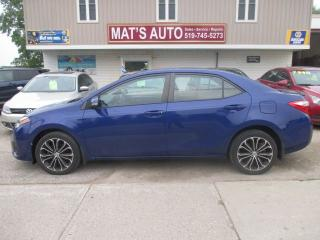 Used 2015 Toyota Corolla S for sale in Waterloo, ON