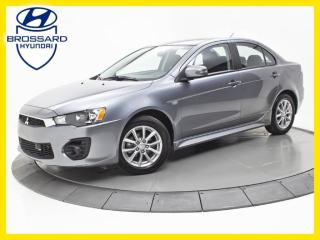 Used 2016 Mitsubishi Lancer AWD, SIÈGES CHAUFFANTS, BLUETOOTH for sale in Brossard, QC