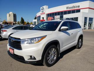 Used 2016 Toyota Highlander XLE AWD | LEATHER | TOUCH SCREEN for sale in Etobicoke, ON