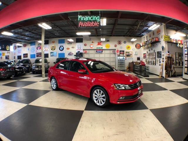 2015 Volkswagen Jetta Sedan 1.8TSI COMFORTLINE  AUTO SUNROOF REAR CAMERA