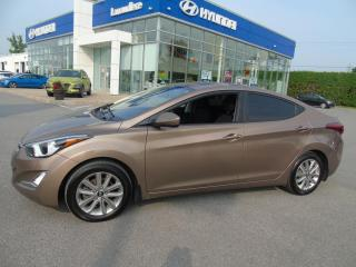 Used 2016 Hyundai Elantra Allure sport berline 4 portes BA for sale in Joliette, QC