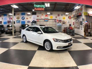 Used 2016 Volkswagen Passat 1.8TSI COMFORTLINE AUT0 LEATHER SUNROOF CAMERA 79K for sale in North York, ON
