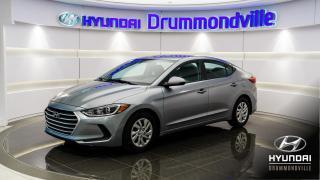 Used 2017 Hyundai Elantra LE + GARANTIE + A/C + SIÈGES CHAUFANTS ! for sale in Drummondville, QC