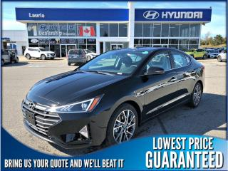 Used 2020 Hyundai Elantra LUXURY AUTO for sale in Port Hope, ON